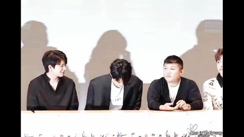 Someone we know will be jealous when he returns - - Woohyun Jaejoong 우현 재준 woogyu - .mp4