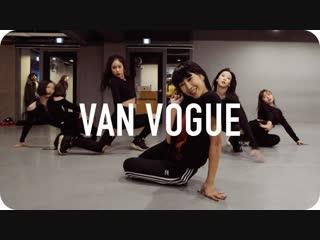 1Million dance studio Van Vogue - Azealia Banks / Jin Lee Choreography