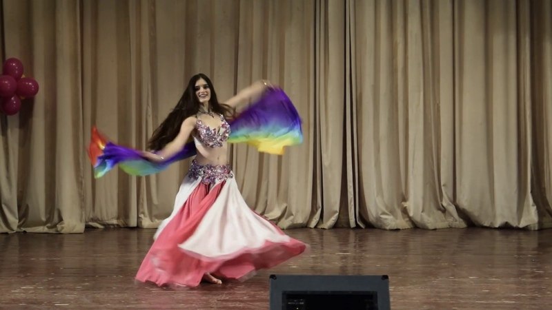 Stadnik Zemfira Bellydance School Royal Dance by Anita Deineka New year concert 20.12.2018