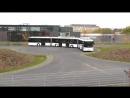 Самый длинный автобус с двумя гармошками