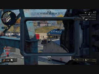 Spooked him out with the first rocket. Black Ops 4