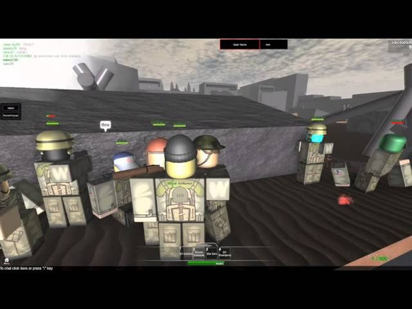 Roblox D-Day part 1 THE MOVIE