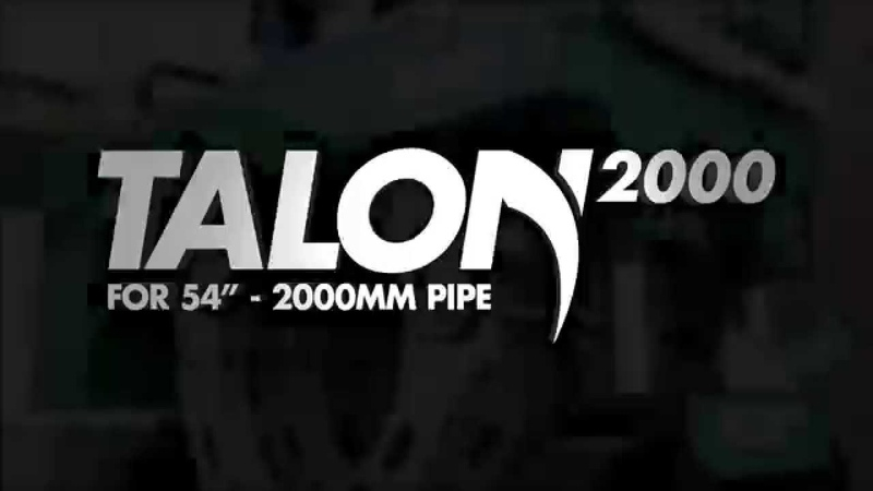 """McElroy® Talon™ 2000 - for 54"""" OD to 2000mm OD pipe fusion"""