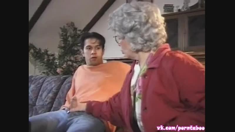 Порно ИНЦЕСТ ВНУК выебал БАБУШКУ Спалила за дрочкой ебля сперма анал incest porn ретро табу taboo granny sex anal секс минет