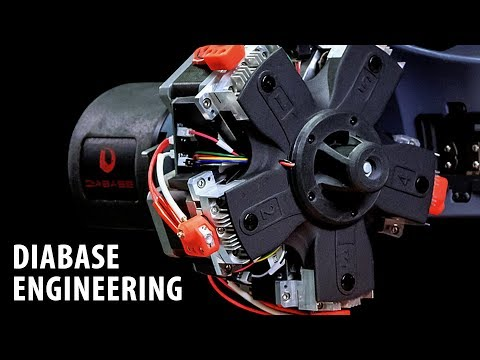 Diabase Engineering H-Series Multi Material 3D Printing / CNC Milling / Laser Scanning Machine!