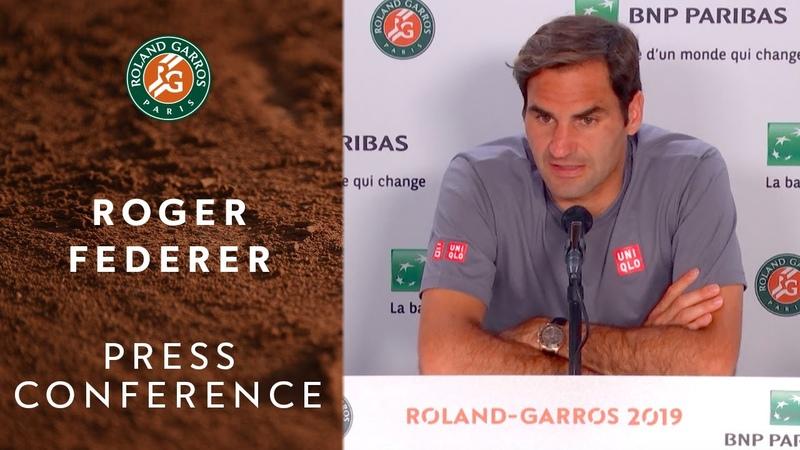 Roger Federer - Press Conference After Round 3 | Roland-Garros 2019