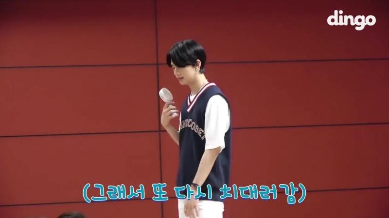 VIDEO 180813 Maknae among hyungs @ dingo behind