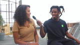 """Khadejia on Instagram: """"😅GAHHHHH !!!!! A whole @denzelcurryph interview is out tomorrow on my channel 💪🏽 Easily the funniest guy - wait till the en..."""