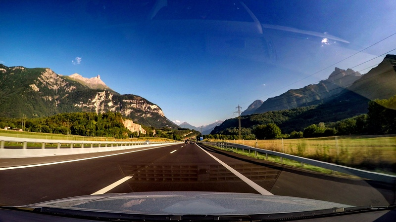 Driving Time-Lapse in Switzerland - From Vionnaz to the Vallon de Van - GoPro Hero4 Black Edition
