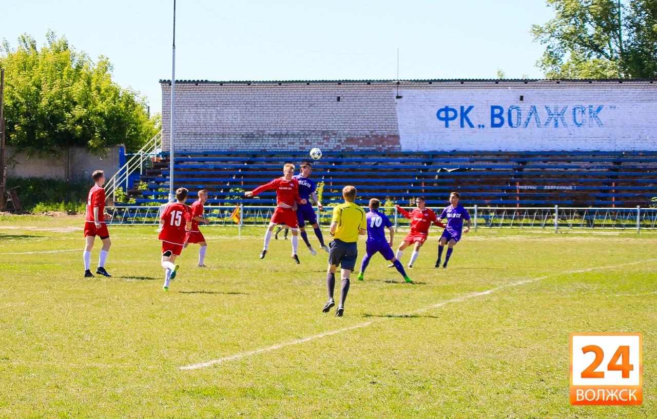 Волжские футболисты продолжили выигрышную серию