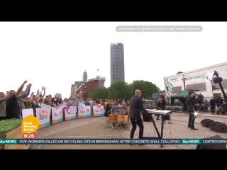 Rick Astley Performs on Good Morning Britain | Angels On My Side (8 July 2016)