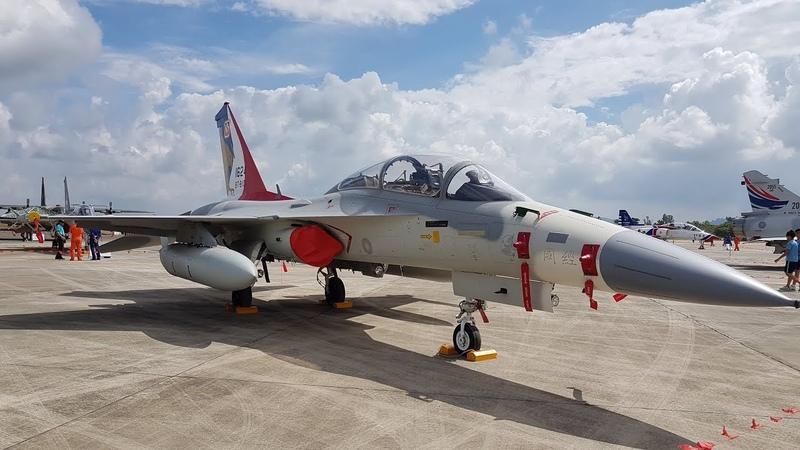 ROCAF AIDC F-CK-1(IDF) Air Show at R.O.C. Air Force Academy (Aug.12.2017)