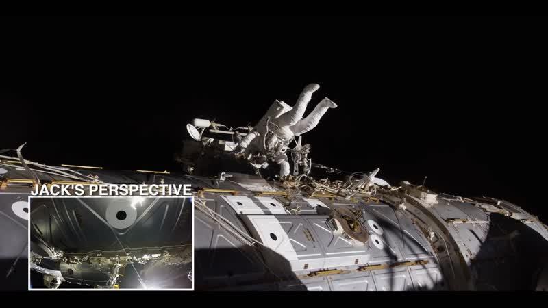 Скажите «Привет» астронавту НАСА Джеку Фишеру во время его потрясающего выхода в открытый космос за пределами МКС😊
