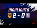 HIGHLIGHTS Hull City 2 Town 0