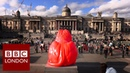 Why there's a new lion in Trafalgar Square BBC London