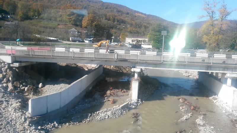 река цыпка мост ремонтируют ноябрь 2018г .