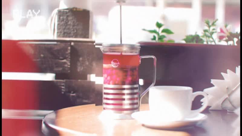 Бруснично-клюквенный чай в «Чайникофф»