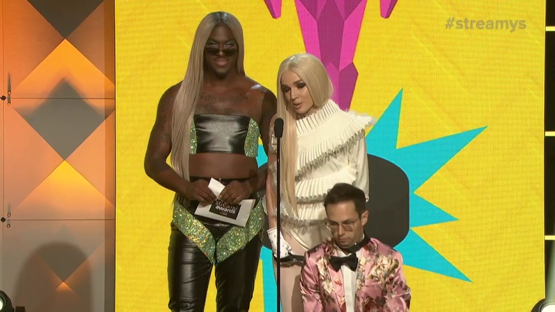 Blame It On Kway and Poppy Present Pop Culture Streamys 2018