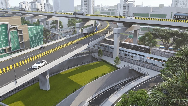 Proposal of Mohakhali Underpass (Animation)
