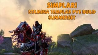 ESO - SIMPLAR - Stamina Templar PVE Build - (Summerset)
