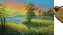 Acrylic Landscape Painting Tutorial Sunset with Barn Beside the Lake by JM Lisondra