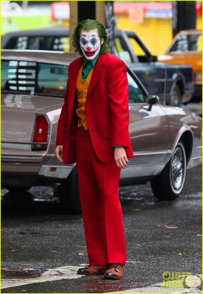 "Хоакин Феникс на съемках ""Джокера"" в Нью-Йорке"