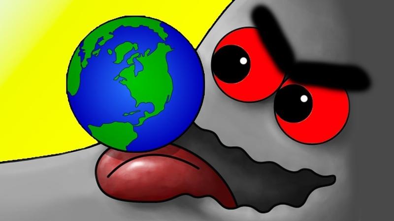 Tasty Planet 7 ФИНАЛ / Глазастик СЪЕЛ ВСЕЛЕННУЮ, как Tasty Blue - игровой мультфильм КРУТИЛКИНЫ