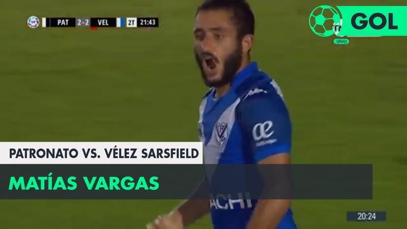 Matías Vargas (2-2) Patronato vs Vélez Sarsfield | Fecha 15 - Superliga Argentina 20182019
