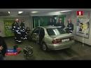 В Минске Mazda въехала в подземный переход