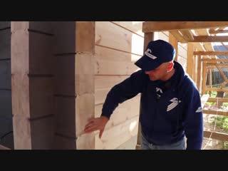 Как защитить торцы клеенного бруса_ Чем покрасить и нужно ли шлифовать_ _Строй и Живи_