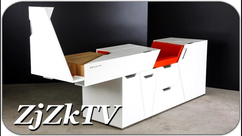 Потрясающая мебель трансформер, которую каждый захочет иметь у себя дома. Изобретения №38