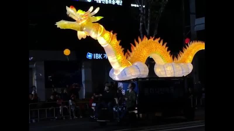 Парад лотосовых фонарей в Сеуле 2