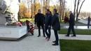 Каррера, Родионов и Измайлов возложили цветы у памятника жертвам трагедии на матче Спартак - Харлем