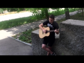 Green Day - Boulevard of Broken Dreams   Fingerstyle cover