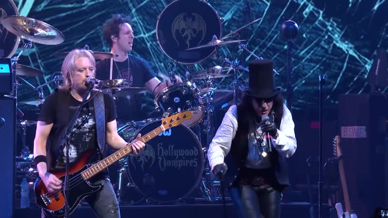 "Hollywood Vampires _""The Boogieman Surprise_"" (Live) Official Video - Album Rise out June 21st"
