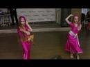 Юлиана и Майя / шааби / дуэт / дети / Восточные танцы в Уфе / Танцы живота / Habibi Style Show / Уфа