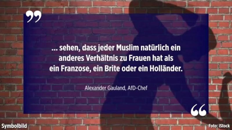 """Gauland zu Chemnitz """"Wenn eine solche Tötungstat passiert ist es normal dass Menschen ausrasten"""