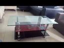 Bàn kính sofa 3 tầng của nội thất Đăng Khoa giá 500k