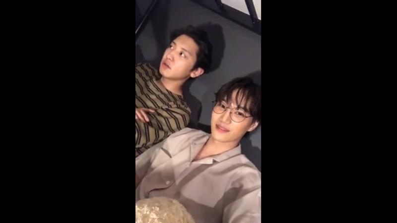 [LIVE] 180703 IG zkdlin KAI 카이 EXO 엑소 인스타그램 라이브 방송
