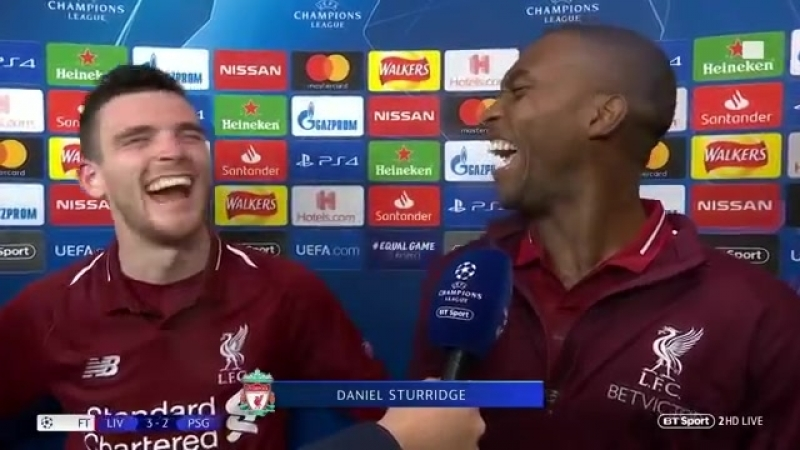 Robertson Sturridge couldnt miss from my cross! (Liverpool v PSG)