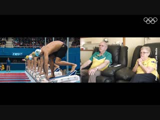Рио-2016: бабушка и дедушка Кайла Чалмерса
