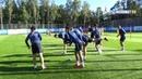 Открытая тренировка Зенита на базе в Удельном парке