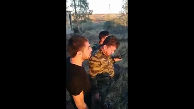 Операции штурмовой группы Аз-Зира Мансурин полка Таха Tiger Forces в районе Босра аль-Харир в провинции Дараа