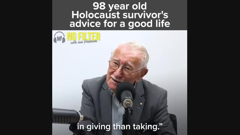 98 Years Grandpa GIVING ADVISE HOW to live this life in simple words