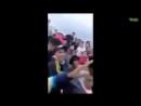 ARRIVAGE - Traversée de Gibraltar vers l'Espagne. Bientôt en France. Des migrants jeunes et en pleine forme !