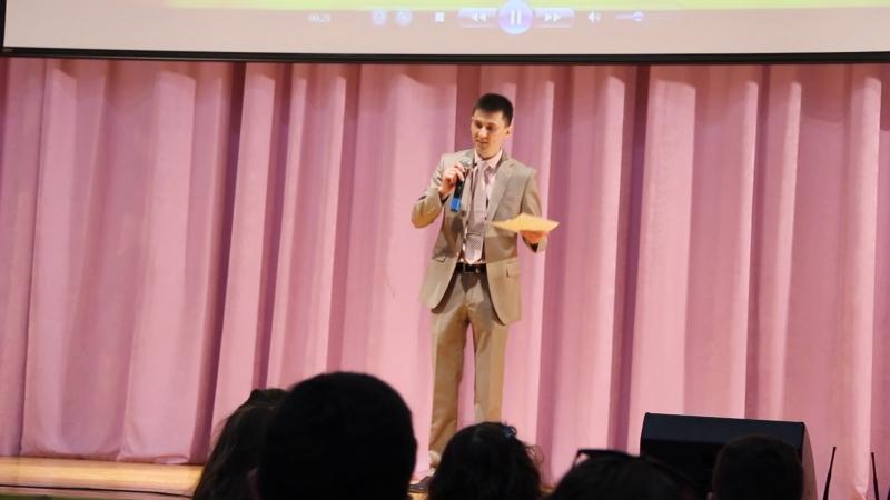 Речь классного руководителя Александра Николаевича на выпускном. Выпуск 9-х классов в школе №28 г.Люберцы