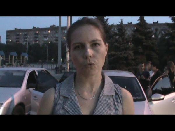 У Маріуполі 17.08.2018р., Віра Савченко поспілкувалася з жителями і подарувала книги (інтервю)