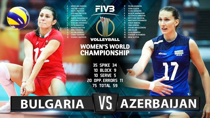 Bulgaria vs Azerbaijan - Highlights | Womens World Championship 2018