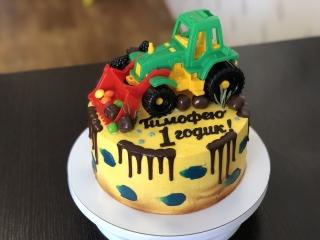 Бисквитный торт на 2 кг