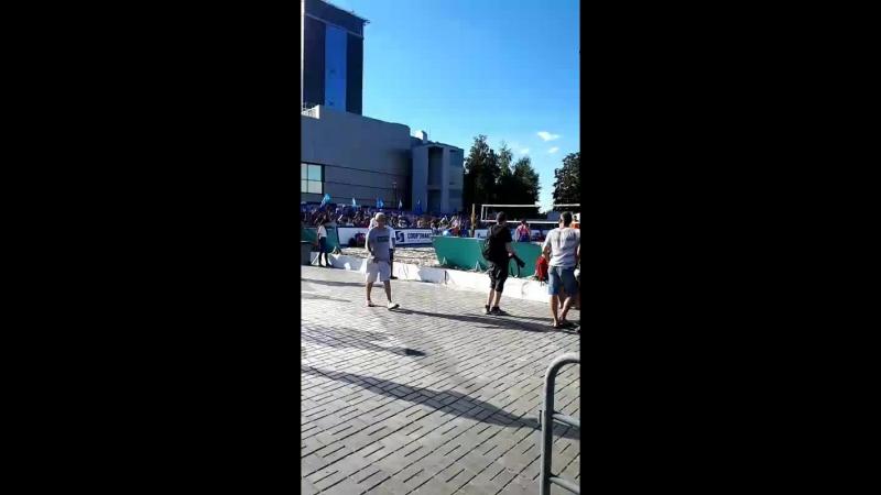 пляжный волейбол финал летний кубок зенита